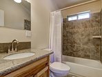 Tahoe Frost  - Master bathroom with shower/tub