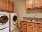 Tahoe Frost  - Laundry room with washer and dryer