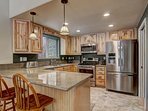 Tahoe Frost  - Fully equipped kitchen