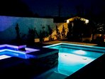 Enjoy stargazing and storytelling from the spa each night.