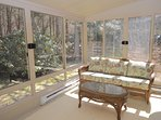3 season porch/sunroom with 3 walls of glass