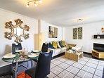 Bright & Light living area