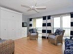Living Area/Murphy bed closet