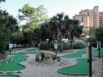 Play a round of putt putt golf during your stay