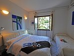 Double bedroom and single bed