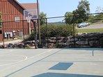 Basketball Court Near the Playground