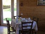 Sala colazioni e consumazione pasti