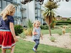 Our garden apartments our great for families with little children
