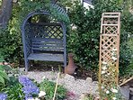 A quiet spot for relaxing in your private garden