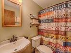 Bathroom with tub-shower