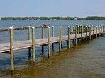 Dock over Little Lagoon