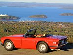 Triumph TR6 available to some guests under some circumstances