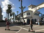 Enjoy Pacific Beach, a fun, walkable neighborhood with great restaurants and nightlife