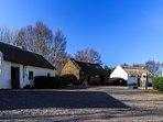 Kerry Bog Village & Red Fox Inn near Glenbeigh  Ring of Kerry Wild Atlantic Way Route. 10 min drive.