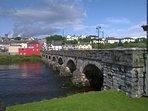 River Laune Bridge at the entrance to Killorglin Town.