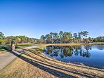 You'll love the villa's location on the tenth tee of Tidewater Golf Resort!