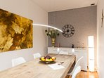 The dining area perfect for 7 guests