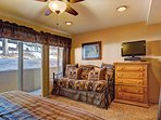 King bedroom also includes twin trundle bed