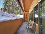 Alternate view of outdoor patio area