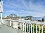 Stunning views of Lake Washington and more awaits up to 9 guests.