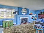 The interior maintains a vintage mid-century charm with modern comforts of home.