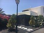 Acceso jardín independiente
