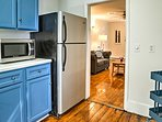 With updated appliances, the kitchen has everything you need and more.