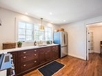 Kitchen with walk in Pantry, All new Cabinetry and Appliances