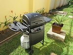 Gas BBQ to enjoy in your private backyard
