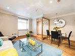Senior one Bed Apartment - Livingroom