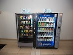 Fancy a snack?   We have vending machines on site for those late night urges or a treat on the go.