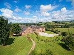 Jennys Croft aerial view