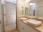 In-suite luxury master bathroom