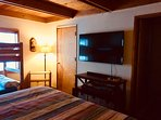 Alpine Hideaway-Downstairs Master Flat Screen TV