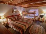 Alpine Hideaway-Downstairs  master bedroom