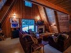 Alpine Hideaway-Living Room