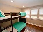 Main level twin bunk room sleeps 2 - great for kids