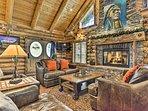 Huge Rustic Log Home Near Salt Lake Ski Resorts!