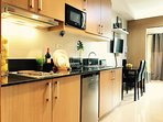 Fully Furnished & Functional 1 Bedroom, Kitchen Bathroom & Toilet. WITH BALCONY. Facing Amenity & Po