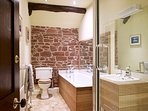 The first floor bathroom shared between the Addingham and Salkeld bedrooms