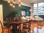 Stylish Dining and Living Area