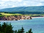 The cabot cliffs with one of the world best golf courses..