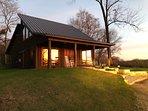 Sunset at Clara's Cabin