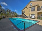 Soak up the sun at the tranquil community pool.