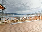 Located steps from Lake George, this home for 8 is the perfect lake getaway.