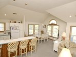Upper Main Level,Kitchen/Dining/Living Area,