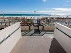 Private boardwalk to beach and Gulf
