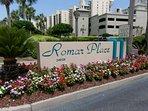 Romar Place entrance