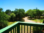 A tree top view with privacy as far as you can see!