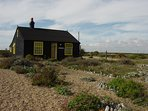 Derek Jarman's garden at Dungeness.